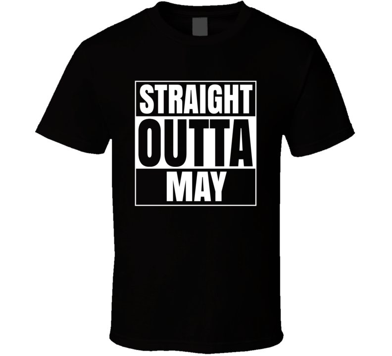 Primary image for Straight Outta May Compton Style Birthday Celebration Parody T Shirt