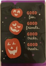 Halloween Card w/ 3 movable pumpkins - $4.95