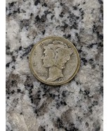 1921-D Mercury Dime - rare, semi-key date coin. 90% silver - $45.00