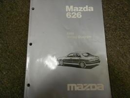 1998 Mazda 626 Elektrisch Wiring Service Reparatur Shop Manuell Fabrik OEM - $14.81