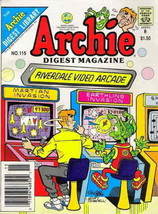 Archie Digest Magazine #115 VF; Archie | save on shipping - details inside - $2.99