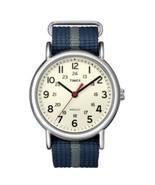 Timex Weekender Slip-Thru Watch - Navy/Gray - $53.95