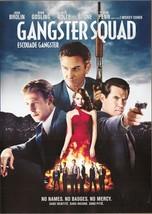 Gangster Squad DVD Josh Brolin Ryan Gosling Nick Nolte Emma Stone Sean P... - $2.99