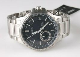 Original Citizen Eco-Drive Satellite Wave Men's Watch CC3000-89L NEW image 1