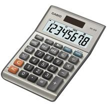 CASIO MS80SSIH Solar Desktop Calculator with 8-Digit Display - $25.79