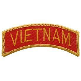 VIETNAM ARMY MARINE CORPS TAB ROCKER EMBROIDERED MILITARY PATCH