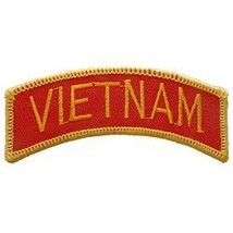 VIETNAM ARMY MARINE CORPS TAB ROCKER EMBROIDERED MILITARY PATCH - $13.53