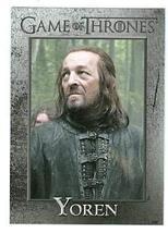 Game of Thrones trading card #81 2013 Yoren - $4.00