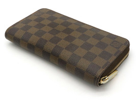 LOUIS VUITTON Damier Zippy Wallet N60015 Used Excellent condition From J... - $430.83