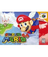 Super Mario 64 N64 Great Condition Fast Shipping - $79.93