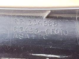 05 Lexus RX330 Roof Rack Rail End Cap Caps Covers Cover Set image 6