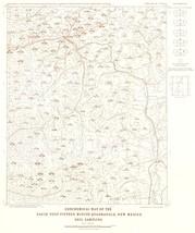 Eagle Nest Quad Soil - NM Mines  1967 - 23 x 27.43 - $36.95+