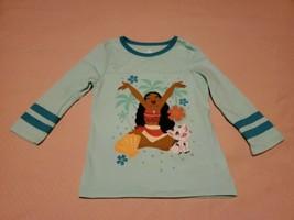 Disney Store Moana Tee Shirt Long Sleeve 9/10 Girls  - $6.86