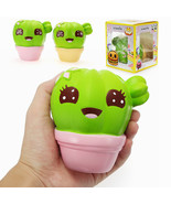 Xinda Squishy Cactus Plant 11cm Soft Slow Rising With Packaging Collecti... - $11.24