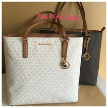 NWT Michael Kors %Authentic Morgan Multi functional Leather LARGE Tote Bag - $139.99+