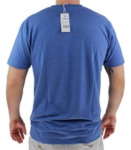 NEW GIOBERTI MEN'S CLASSIC ATHLETIC V NECK T-SHIRT TEE H-ROYAL BLUE VN-9503 image 2