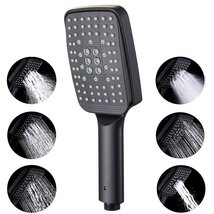 Handheld Shower Head Replacement, 6 Function Modern Bathroom Removable H... - $50.77+