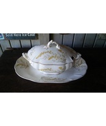 Lidded Tureen & Large Under Plate John Maddock & Sons c. 1880 FREE SHIPP... - $139.00