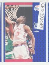 1991 Fleer Basketball #94 Olden Polynice Center 192449 - $0.98