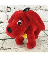 Clifford The Big Red Dog Story Book Plush Scholastic Stuffed Animal Toy ... - $14.84