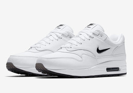 low priced 453a6 89972 918354-103 Nike Air Max 1 Premium SC Black White Sneaker Shoes - £