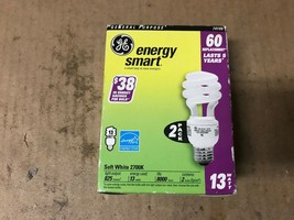 GE 74199 Compact Fluorescent Bulb- 13 Watt- T3 Spiral- Soft White SHELFPULL - $13.80