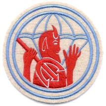 Us Army 504th Airborne Infantry Regiment Military Patch Devil And Pitch Fork - $11.87