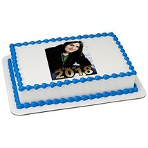 Class of 2018 Photo Frame Add your Own Picture Edible Frosting Image 1/4... - $9.99