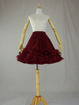 Women's Tulle Ballerina Skirt Purple Layered Tulle Skirt Puffy Tutu image 12