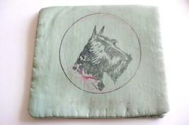 1920-1930's SCOTTIE DOG Hankie handkerchief Holder hand-made & hand-painted - $32.00