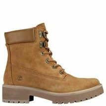 """Timberland Women's Carnaby Cool 6"""" Inch Winter Boots Rust Suede Brown A1UPW - $69.99"""