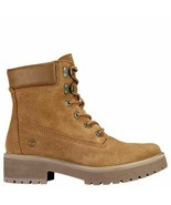 "TIMBERLAND WOMEN'S CARNABY COOL 6"" INCH WINTER BOOTS RUST SUEDE BROWN A1UPW - $69.99"