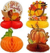 Fall Thanksgiving Harvest Table Centerpieces 10 inch, Select Type - $2.99