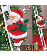 Climbing & Singing Santa Claus Electric Ladder - $28.99