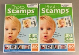 Custom PHOTO STAMPS PC 40 Stamps 1st Class Postage USPS FREE SHIPPING - $18.70