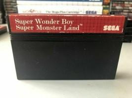 Wonder Boy in Monster Land (Sega Master System, 1988) Game Cartridge Only - $25.82