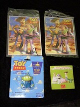Toy Story Lot 1990s Alien Keychain Mexican Puzzles French McDonalds Broc... - $28.99