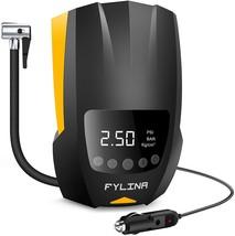 FYLINA Auto Air Compressor Tire Inflator, 12V DC Portable Air Compressor... - $36.86