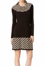 Jessica Howard Black Women's Cowl Neck Sweater Dress $79 - €16,15 EUR+