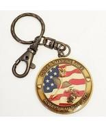 Marine Wife KeyChain USMC Once a Marine Wife Always a Marine Wife Semper... - $12.00