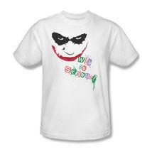 The Joker T shirt Why So Serious Dark Knight superhero Batman cotton tee BM1508 image 2