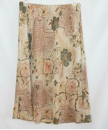 Bice Elastic Waist Lined A-Line Skirt Size Small   D342 - $20.00