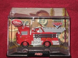 DISNEY STORE Red the Fire Engine in Collectors Case Pixar CARS. BRAND NEW. - $18.69