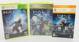 Xbox 360 Halo Wars Greatness Is Earned Platinum Hits Video Game DVD Pack... - $20.78