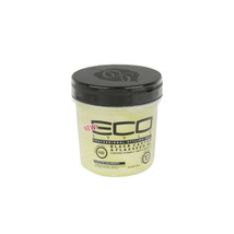 Eco Style Black Castor Flaxseed Oil Styling Hair Gel Shine Nourish Max H... - $12.95