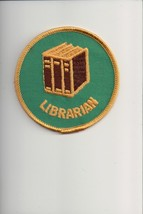 Librarian patch - $1.39