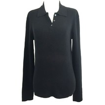 Jones New York Women's Long Sleeve Ribbed Knit Collared Polo Sweater Top... - $24.74