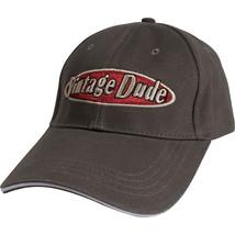 Vintage Dude Canvas Myth Cap, Case of 3 - $51.04