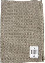 "Dunroven House Waffle Weave Kitchen Towel 20""X28""-Solid Taupe - $10.80"