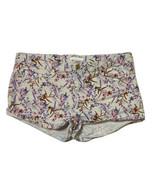 H&M Women Size 10 (Meas 32x2) Floral Hot Shorts - $12.96
